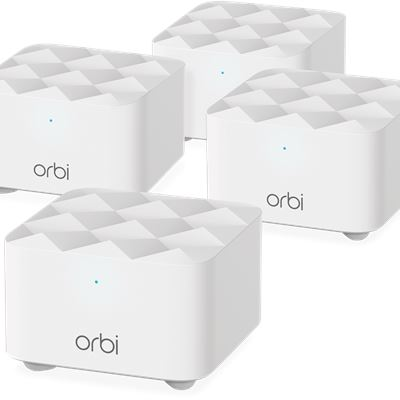 Orbi Mesh System AC1200 Dual-band 4-pack