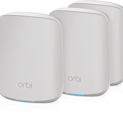 Dual Band WiFi 6 Orbi System – 3 Pack