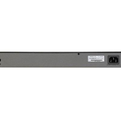 NETGEAR ProSafe™ 48-port Gigabit Smart Stackable Switch with 4 10G SFP+ slots (GS752TXS)- Back