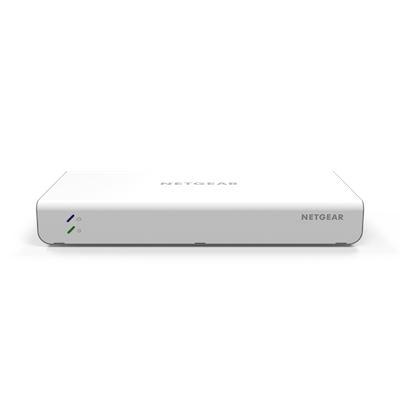 NETGEAR® Insight Managed 8-Port Gigabit Ethernet Smart Cloud Switch with 2 SFP Fiber Ports (GC110)