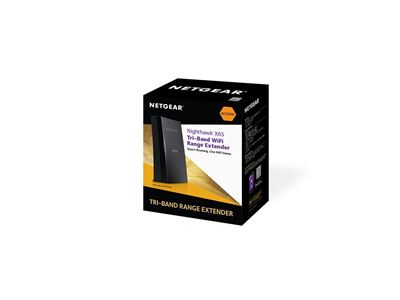 Nighthawk® X6S AC3000 Tri-Band WiFi Mesh Extender (EX8000) - Box