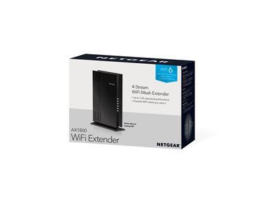 AX1800 4-Stream WiFi Mesh Extender EAX20 - 3D