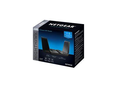 Nighthawk® AX8 8-Stream AX6000 WiFi Router (RAX80) - Jaguar Box