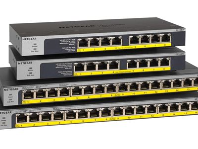 16-Port Gigabit Ethernet Unmanaged Switch GS108-GS116 - Family Rright
