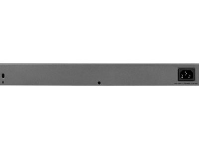 48-port Gigabit Ethernet Smart Managed Plus Switch with 2 SFP Ports (GS750E) - Back