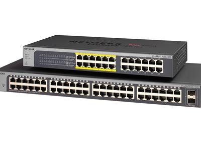 48-port Gigabit Ethernet Smart Managed Plus Switch with 2 SFP Ports (GS750E) - Family