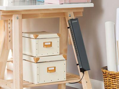 GSS116E DeskLeg Velcro Horiz MedRes