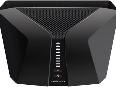 Nighthawk AX4 4G LTE WiFi 6 (LAX20) - Top