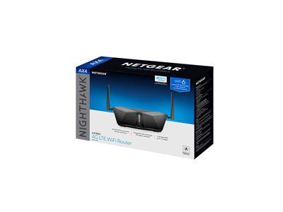 Nighthawk AX4 4G LTE WiFi 6 (LAX20) - 3D Box