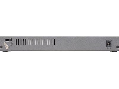 NETGEAR 8-port Gigabit PoE+ Ethernet Smart Managed Pro  Switch with 2 SFP Ports (GS110TPv3) -Back