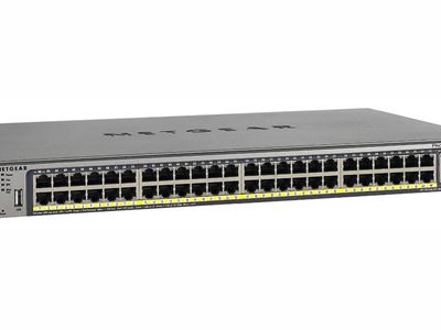 M4100-50G-POE+ Managed Switch (48-Port, PoE+, Gigabit Ethernet, L2+)
