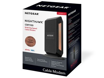 DOCSIS 3.1 Multi-Gig Speed Cable modem