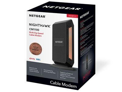 Nighthawk Multi-Gig Cable Modem (CM11000)