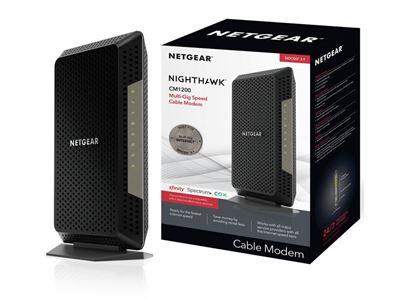 Nighthawk Multi-Gig Cable modem (CM1200)