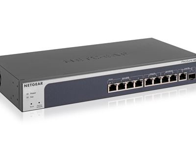 8-port Multi-Gigabit Ethernet Smart Managed Pro Switch with 10G Copper / 10G SFP+ Fiber Uplinks