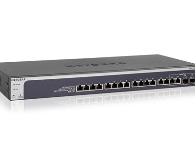 16-Port 10-Gigabit Copper Smart Managed Pro Switch with 2 Copper/SFP+ Combo Ports