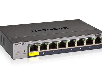8-Port Gigabit Ethernet Smart Managed Pro Switch (GS108Tv3)