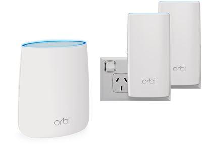 Orbi Mesh WiFi System (RBK23W)