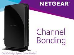 NETGEAR DOCSIS® 3.0 (CM500) Cable Modem