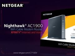 AC1900-Nighthawk DOCSIS 3.0 High Speed Cable Modem Router + Voice