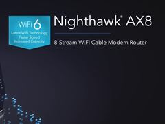 NIGHTHAWK WiFi 6 Cable Modem Router (CAX80)