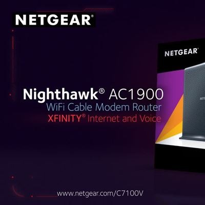 C7100V Netgear Voice URL