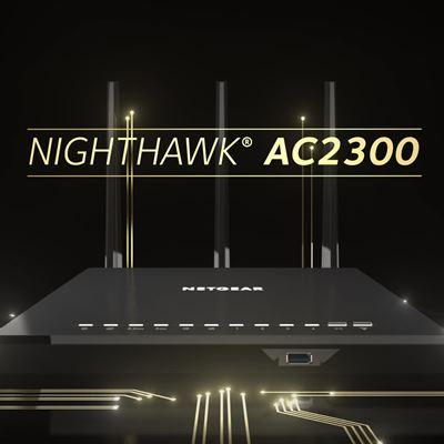 Nighthawk AC2300 Smart WiFi Router R7000P