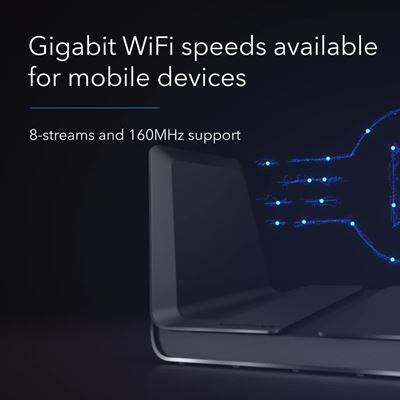 Nighthawk AX8 8-Stream AX6000 WiFi Router (RAX80) (2)