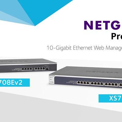 Netgear XS708E & XS716E