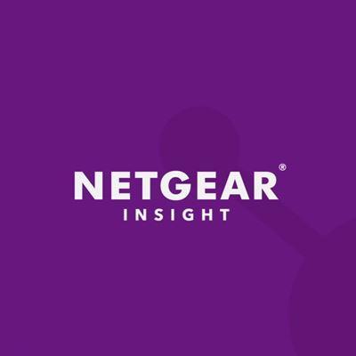 NETGEAR Insight Managed 8-Port Gigabit Ethernet Smart Cloud Switch with 2 SFP Fiber Ports GC110