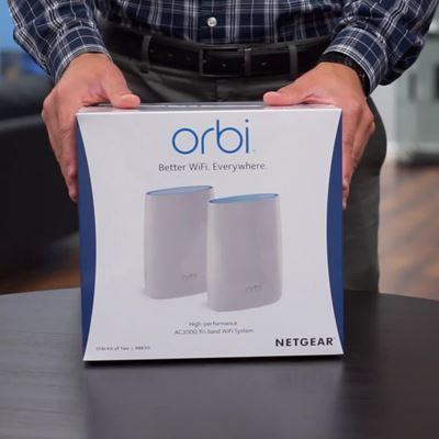 Orbi Unboxing