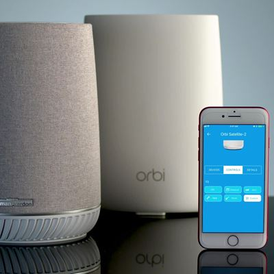 Orbi™ Voice Smart Speaker & System Add-on (RBS40V)