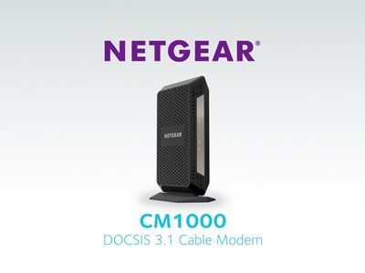 DOCSIS 3.1 Ultra High Speed Cable modem
