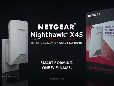 Nighthawk X4S Tri-Band WiFi Mesh Extender (EX7500) (2)