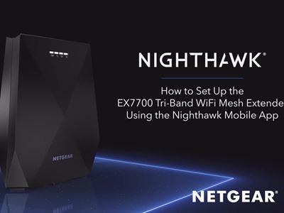HowTo Setup Nighthawk App