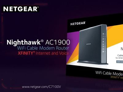Nighthawk Cable Modem Router + Voice (C7100V)