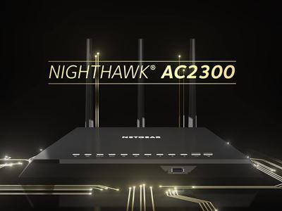 Nighthawk® Smart WiFi Router (R7000P)
