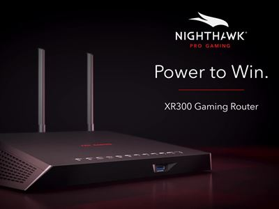 XR300 Nighthawk Pro Gaming WiFi Router  by NETGEAR