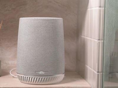 Orbi Mesh WiFi System with Orbi Voice Smart Speaker