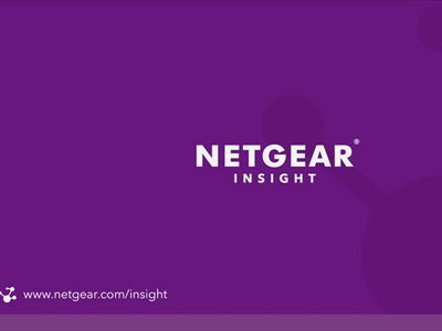 NETGEAR® Insight Managed 8-Port Gigabit Ethernet Smart Cloud Switch with 2 SFP Fiber Ports (GC110)