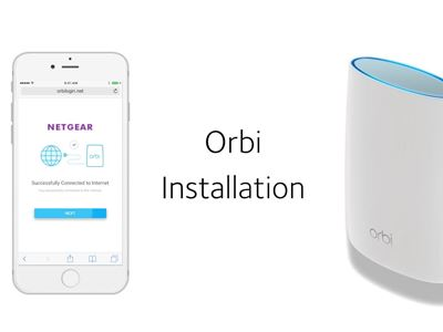 Orbi Installation
