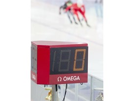 Timekeeping Image Speed Skating