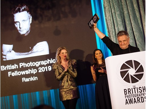 Rankin wins Fellowship Award at the British Photography Awards