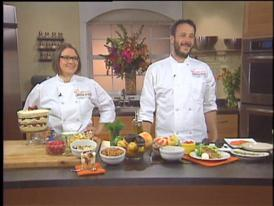 Innovative Chefs, Anthony Rose and Jenny McCoy, on Sweet and Savory Plates