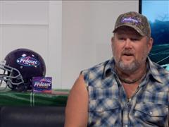 Larry the Cable Guy Talks Football and Food!