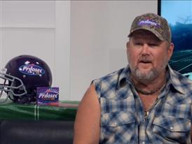 Larry the Cable Guy talks about Football and Homegating