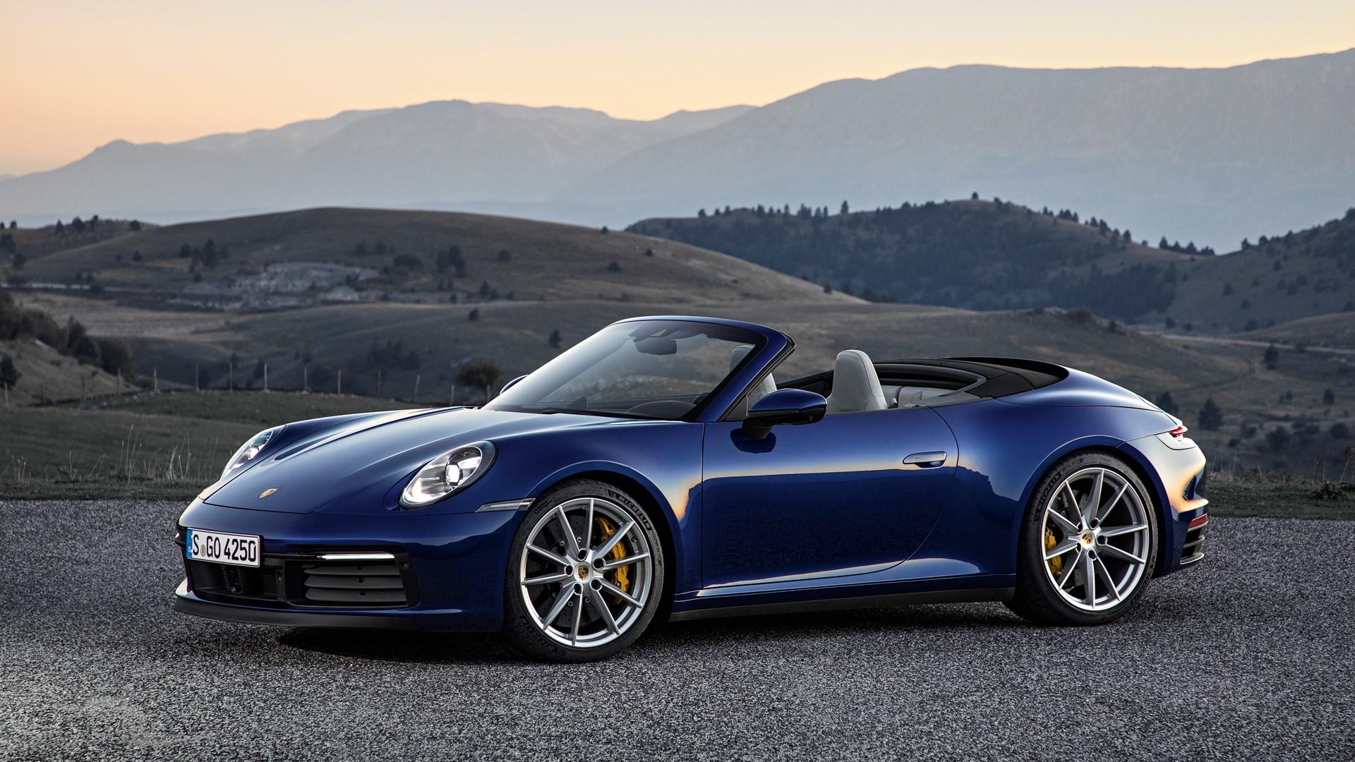 High Tech Soft Top For The New Porsche 911 Carrera Cabriolet