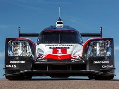 The new Porsche 919 Hybrid for the 2017 FIA World Endurance Championship