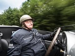 Porsche congratulates Motor Sport Legend Hans Herrmann