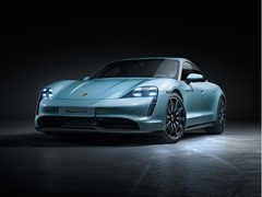 Porsche extends electric sports car model range with the Taycan 4S